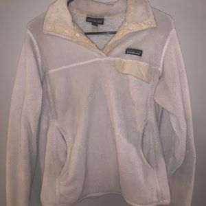White Patagonia pullover